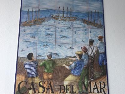 mural of fishing